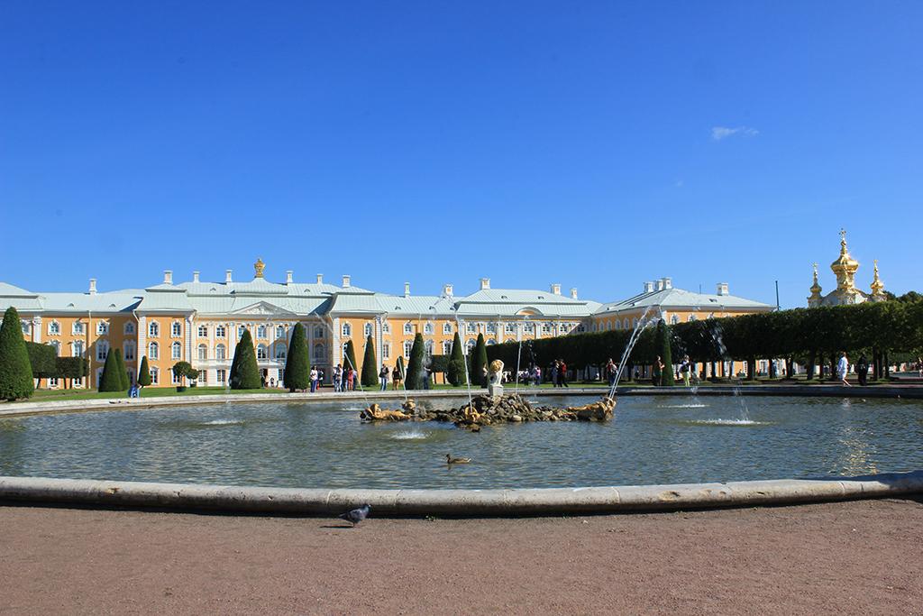 Jardin alto Peterhof