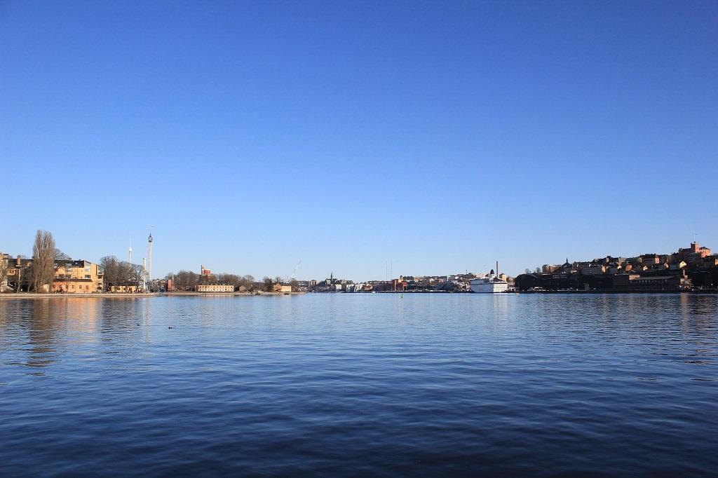 Vistas a las islas de Estocolmo