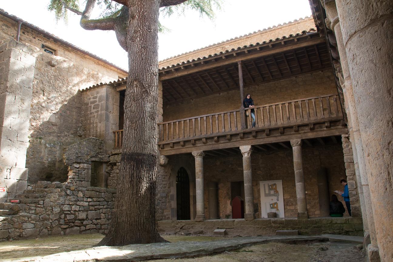 Abadia de Lagrasse interior