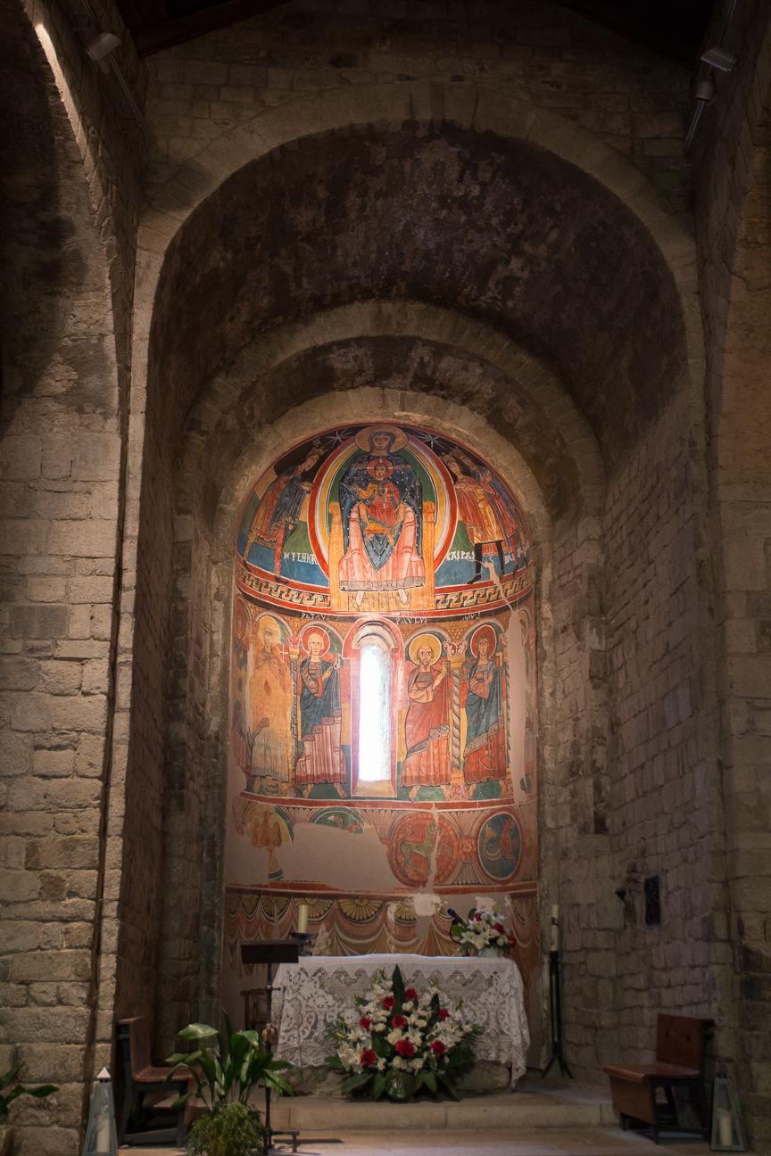 Abside central de Santa Maria de Taull