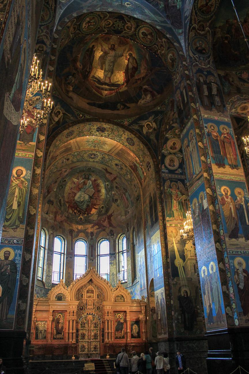 Abside principal de la catedral de la Sangre Derramada