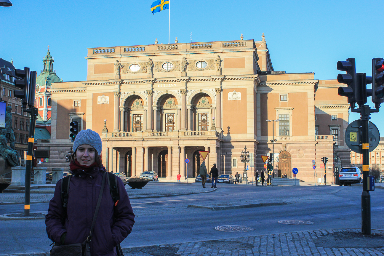 Academia de sueco en Estocolmo