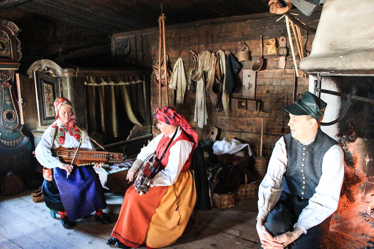 Actores en Skansen