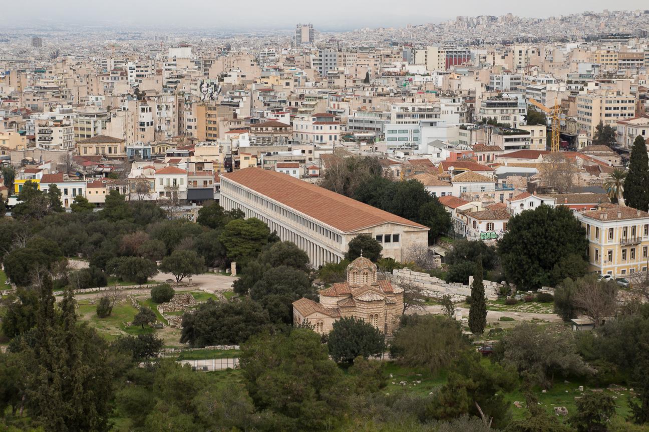 Agora romana en Atenas