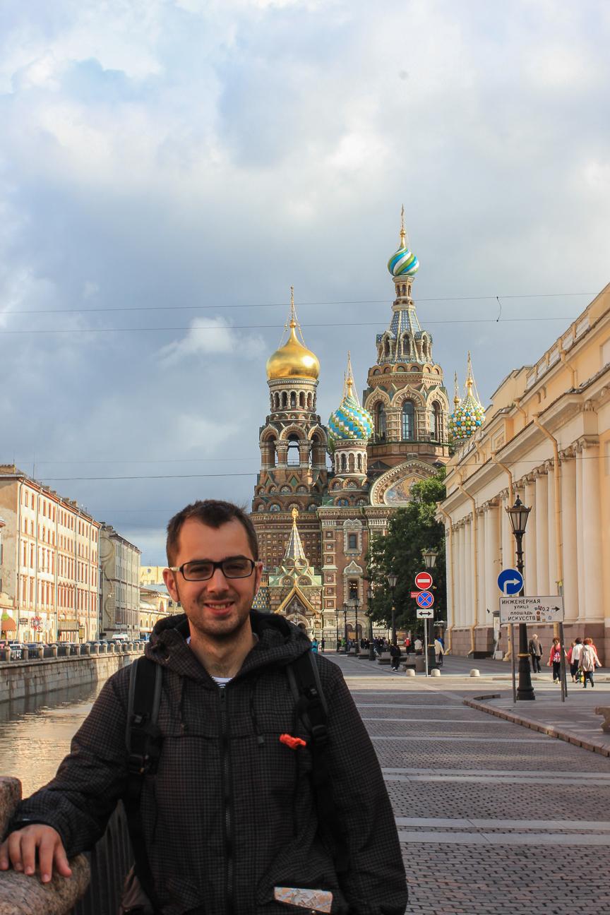 Aitor en San Petersburgo