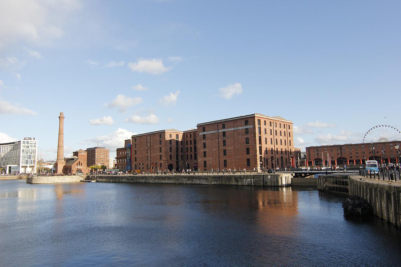 Albert Docks en Liverpool