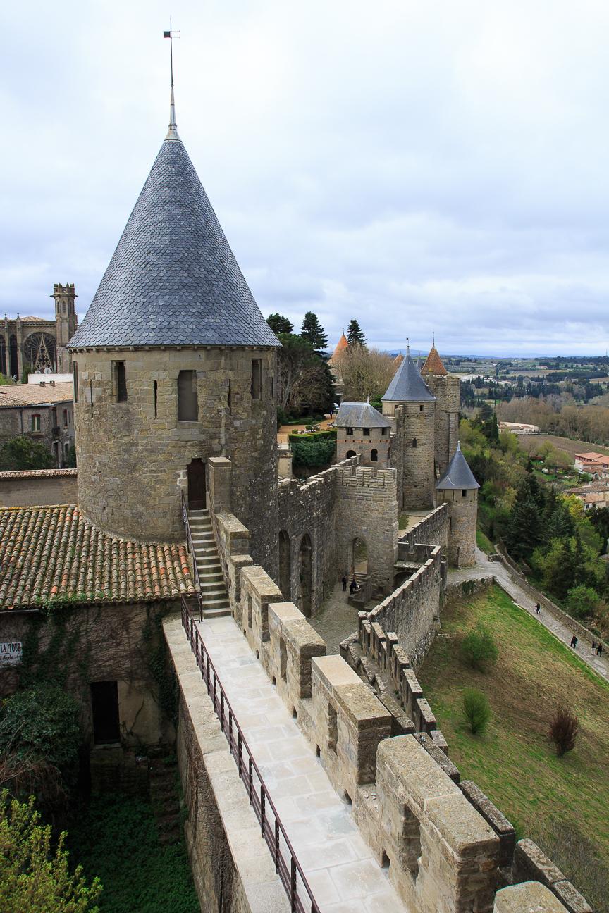 Almenas de Carcassonne