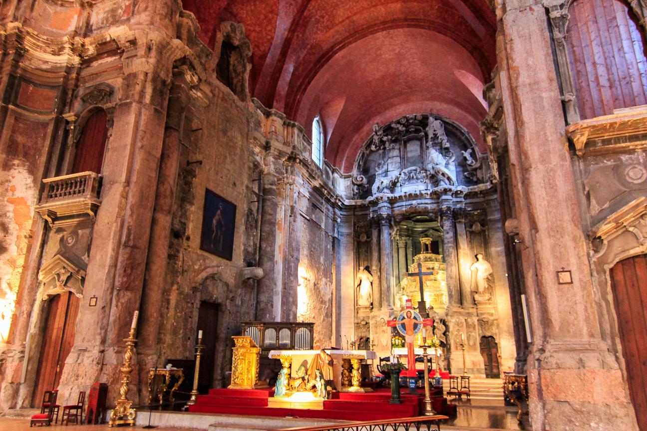 Altar de Santo Domingo en Lisboa