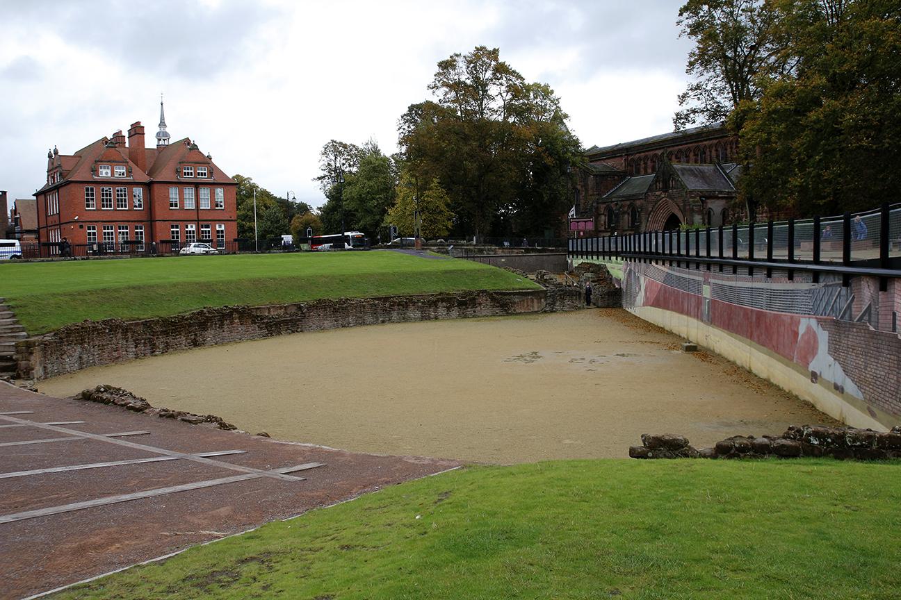 Anfiteatro romano en Chester