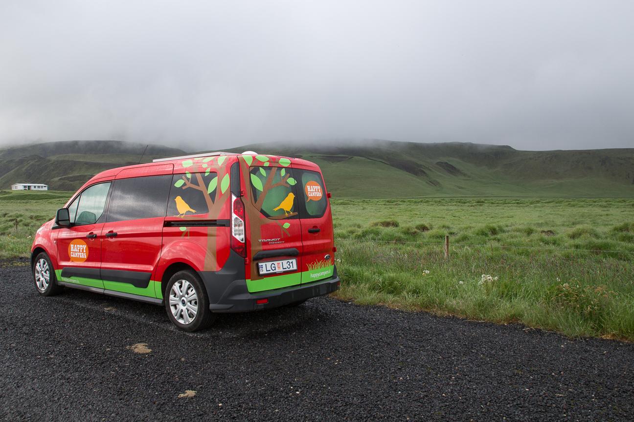 Viaje a Islandia en furgoneta