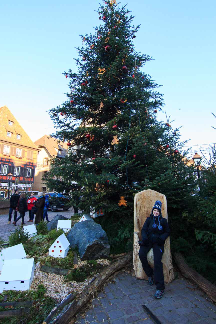 Arbol de Navidad en Obernai