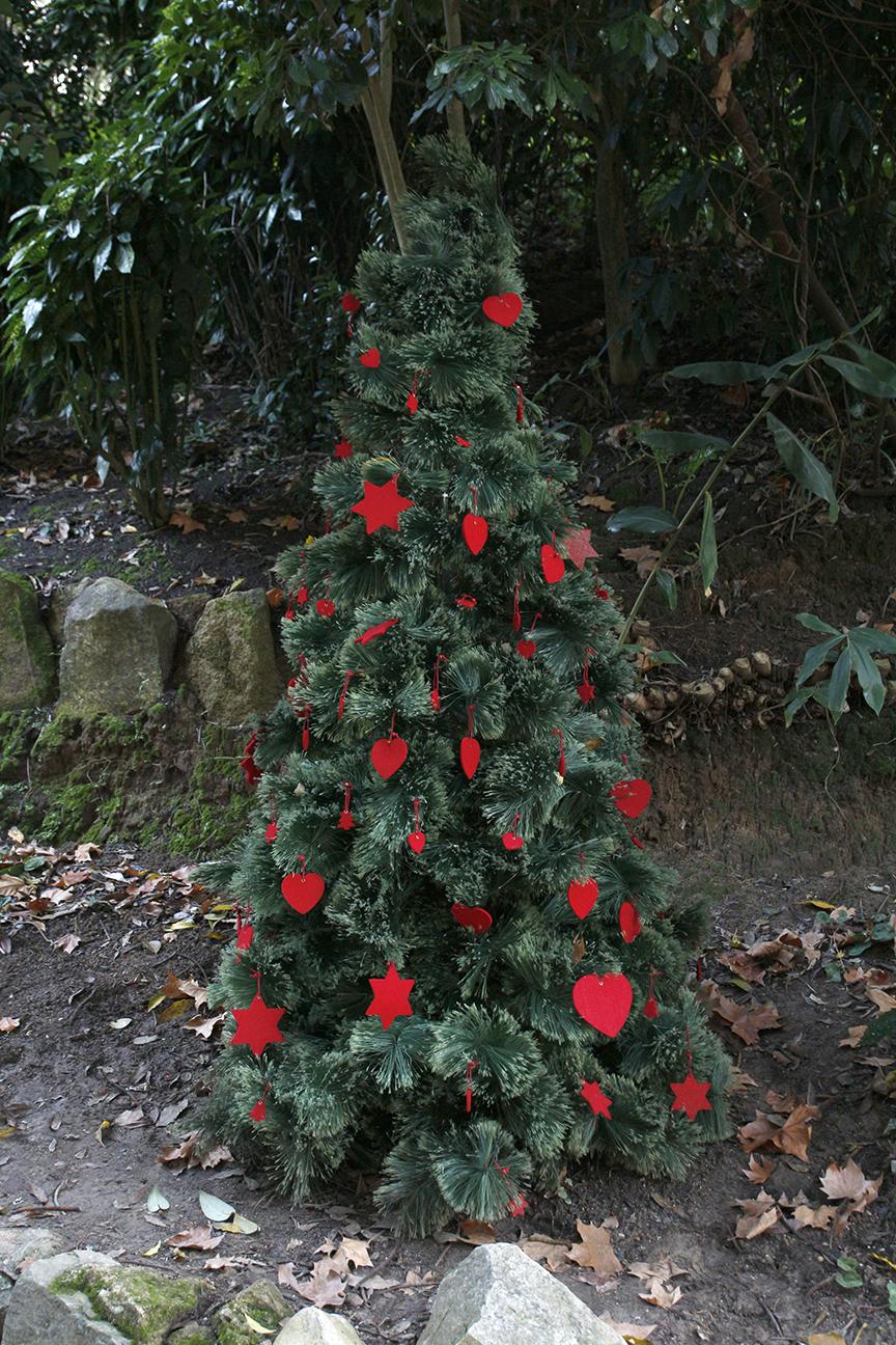 Arbol de navidad en Sintra