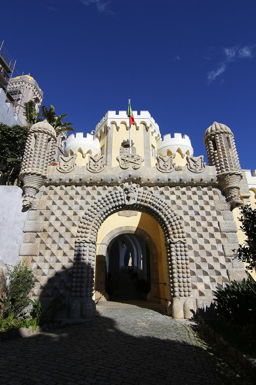 Arco de entrada al Palacio da Pena