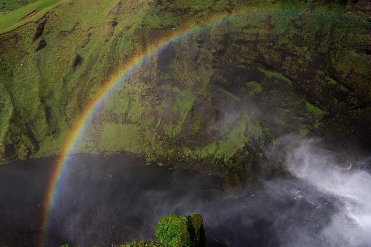 Arcoiris en Islandia