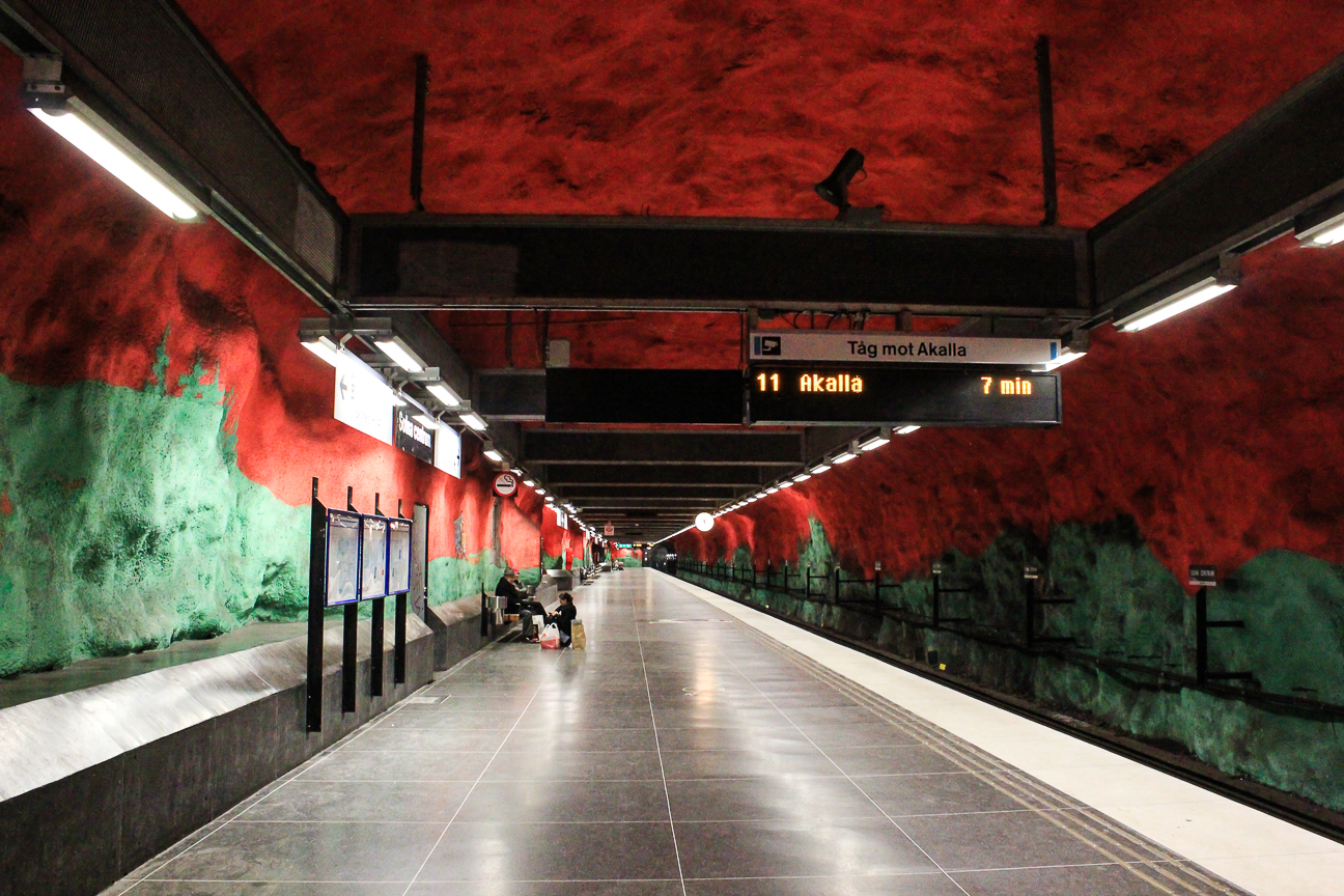 Arte suburbano Estocolmo