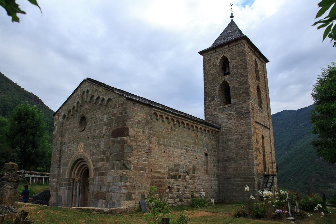 Iglesia romanica de Assumpcio de Coll