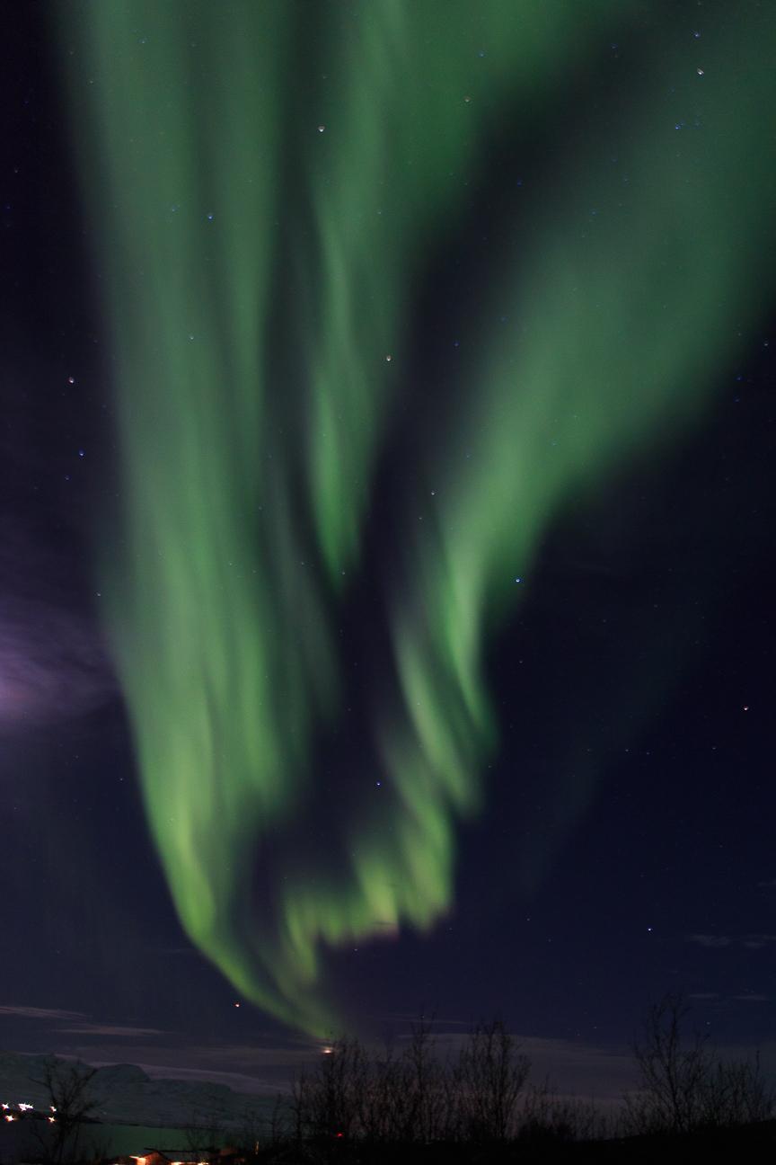 Aurora boreal gigante