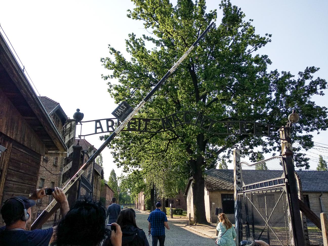 Auschwitz el trabajo os hara libres