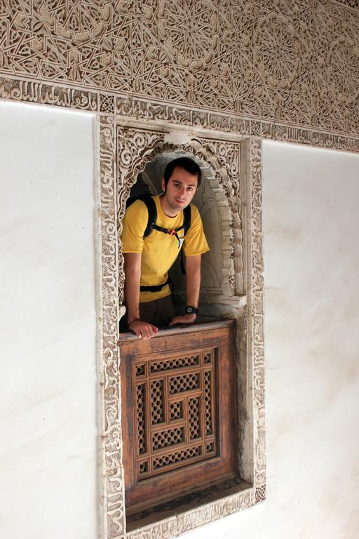 Balcon interior Madraza en Marrakech