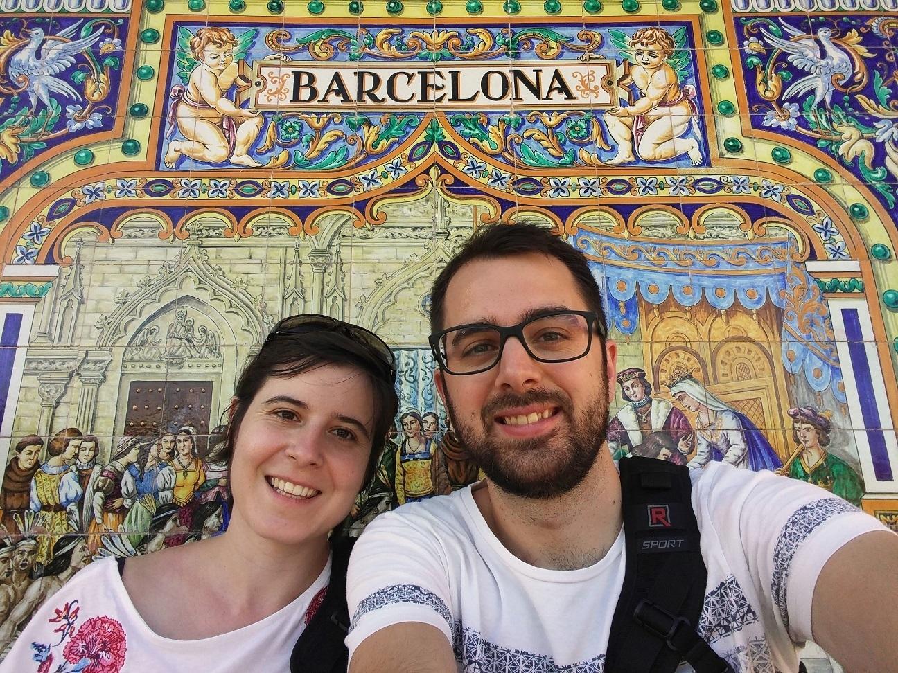 Barcelona en plaza Espana