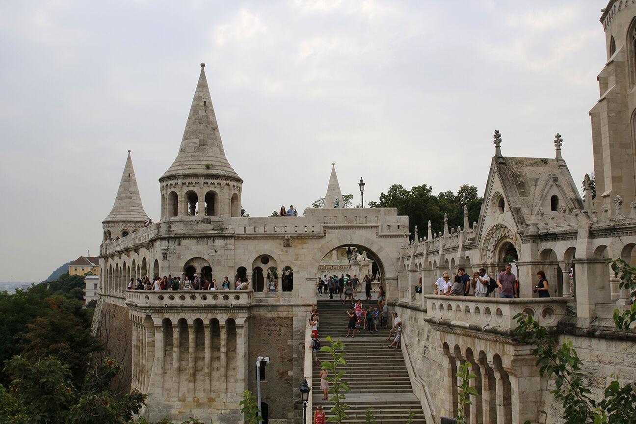 Bastion de los Pescadores en Buda
