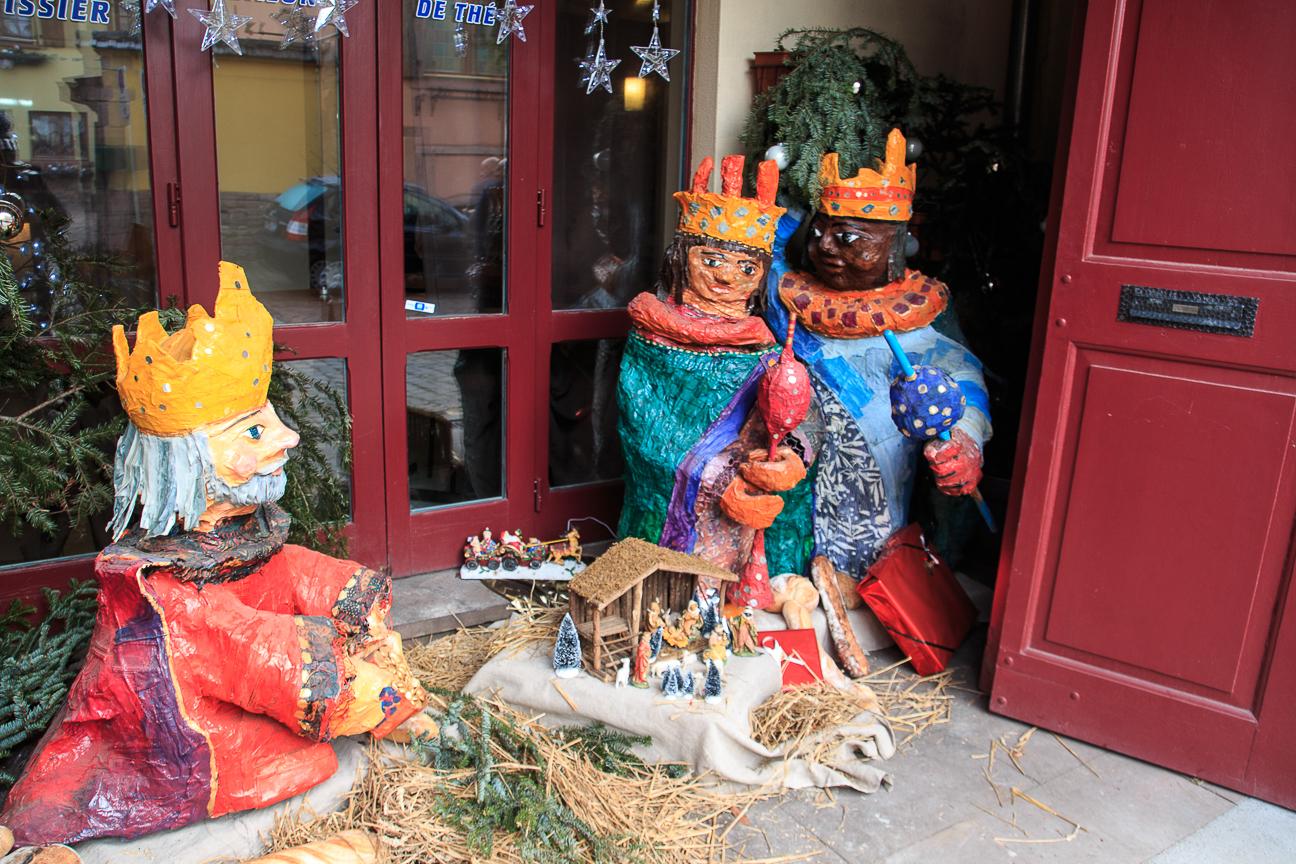 Berheim Reyes Magos en Alsacia
