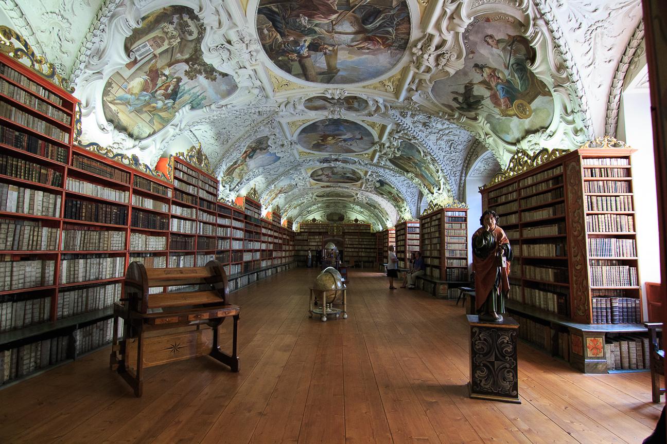 Biblioteca monasterio Strahov en Praga