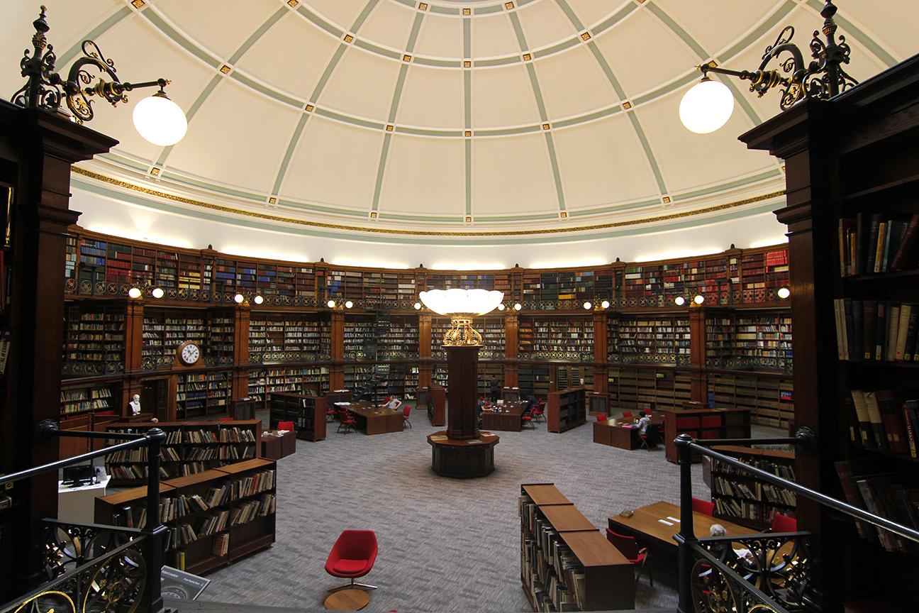 Biblioteca Central de Liverpool - Pictor Reading Room