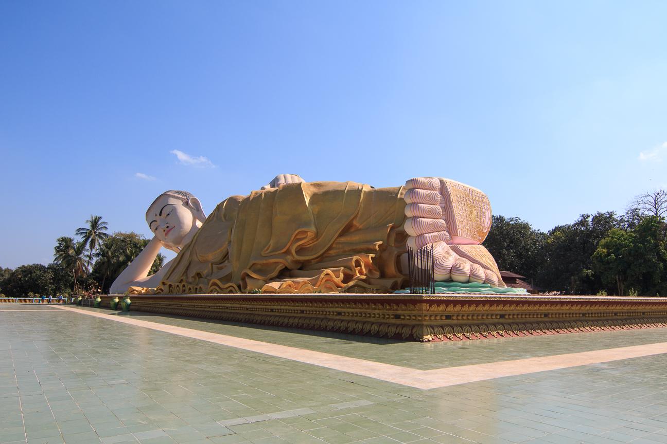 Buda gigante Myathalyaung