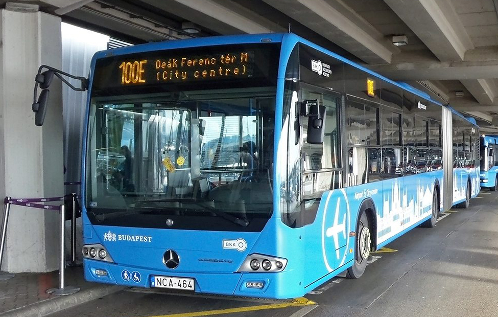 Budapest bus aeropuerto 100E