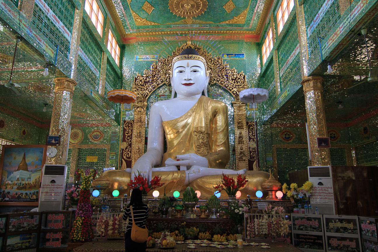 Buddha en Soon Oo Pon Nya Shin Pagoda