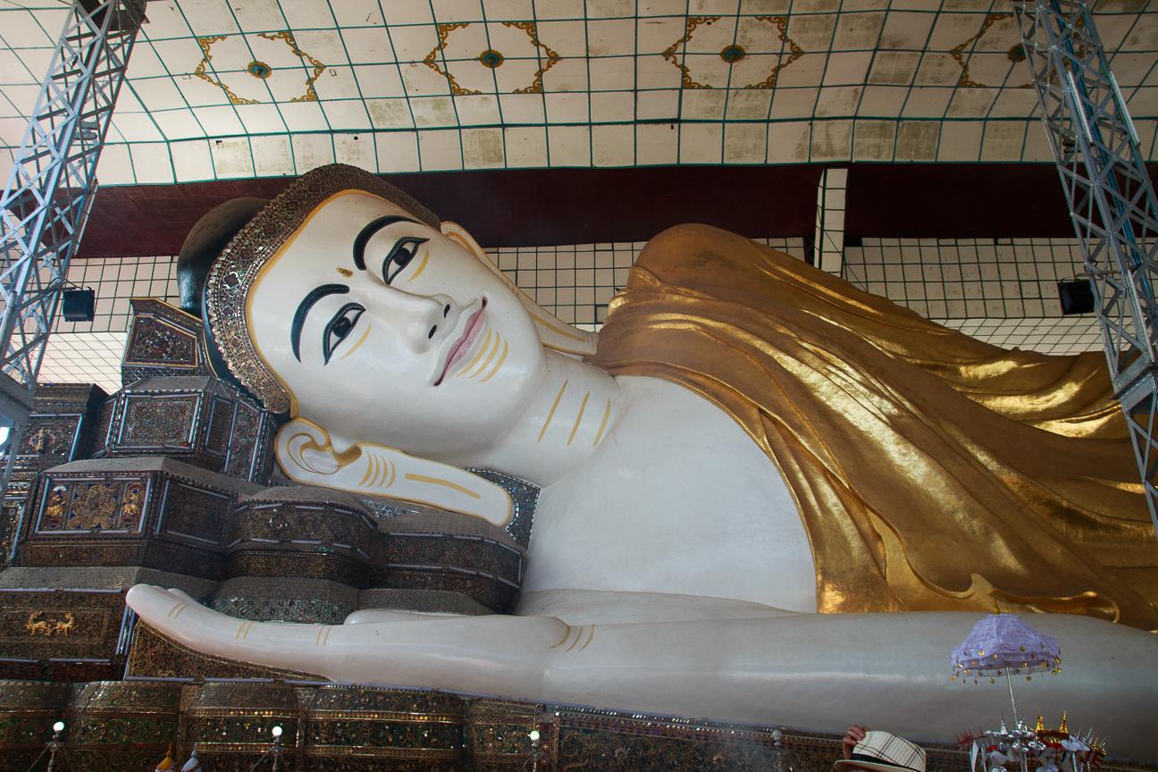 Budha reclinado Shwethalyaung