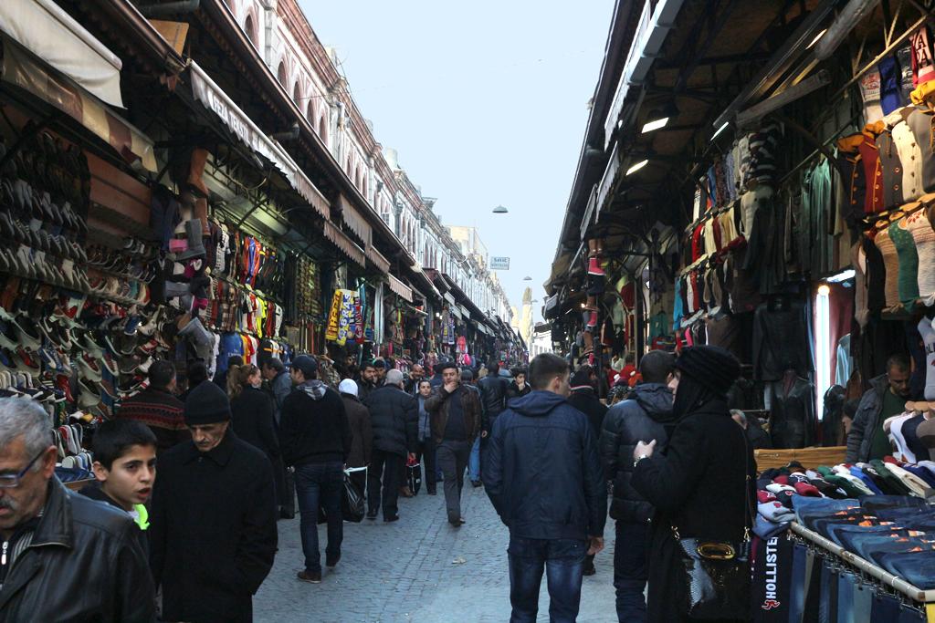 Calle junto al Gran Bazaar