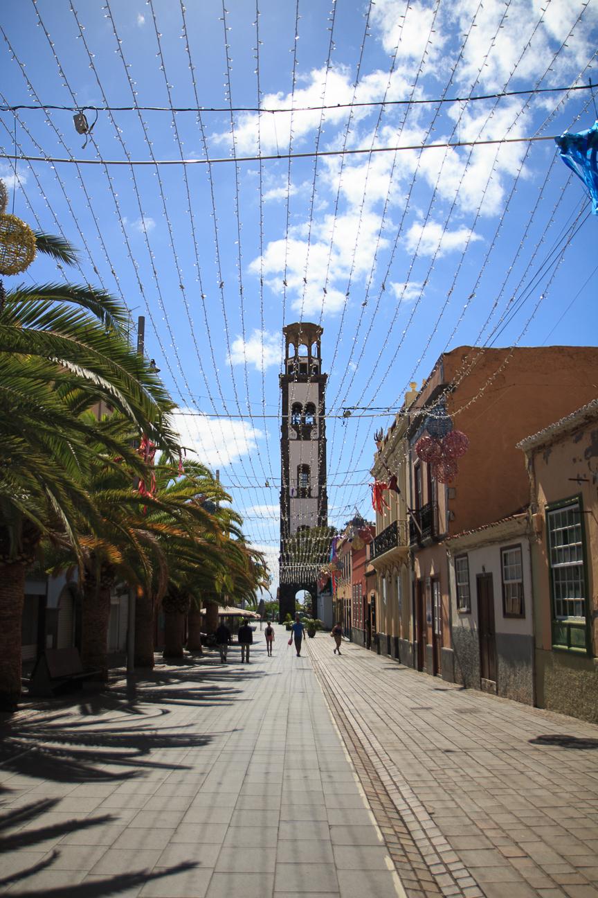 Calle de la Noria en Santa Cruz de Tenerife