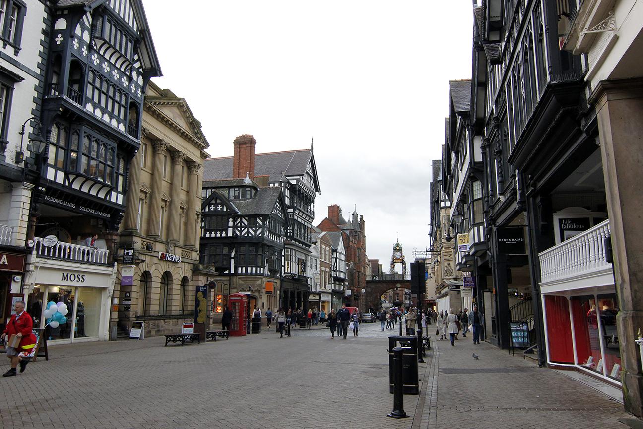 Calle principal de Chester