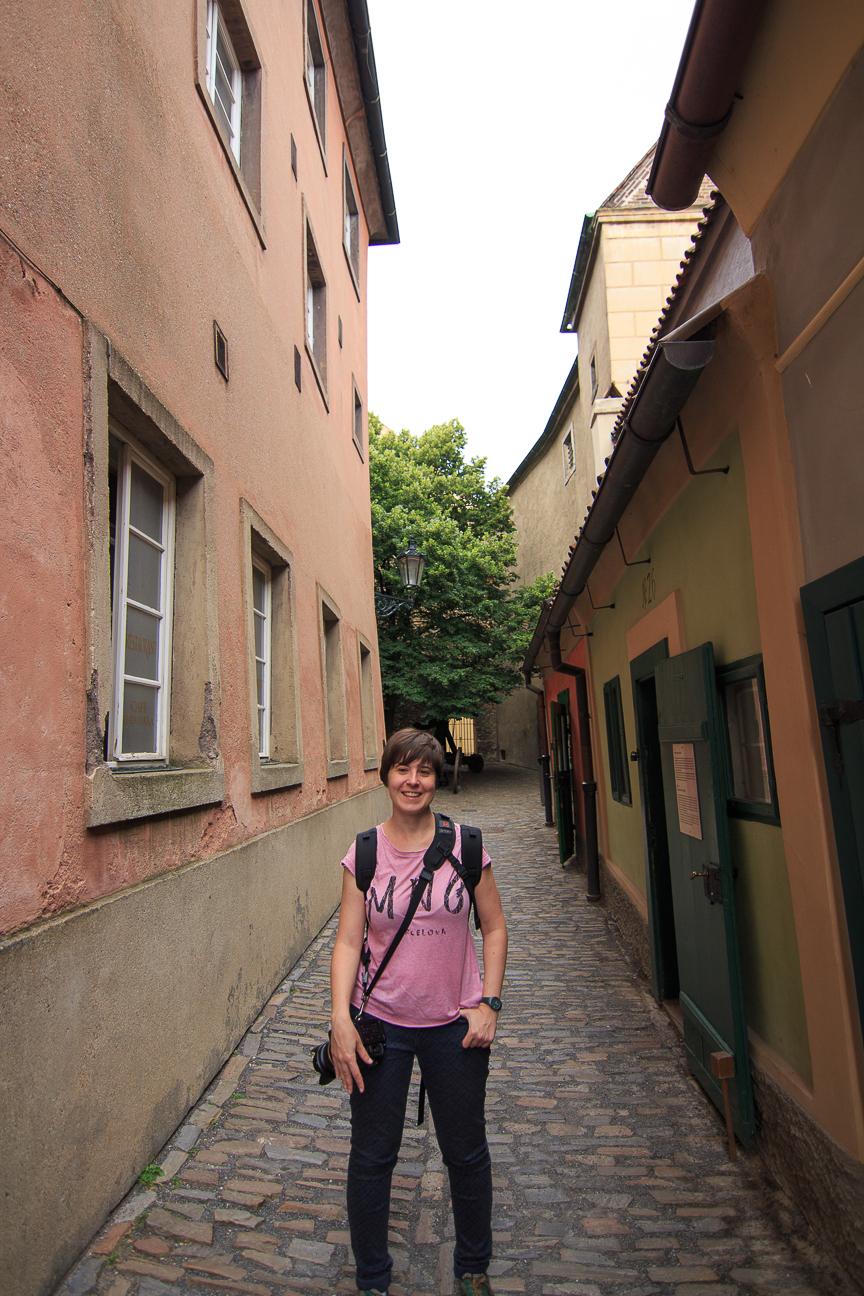Callejon de Oro en Praga