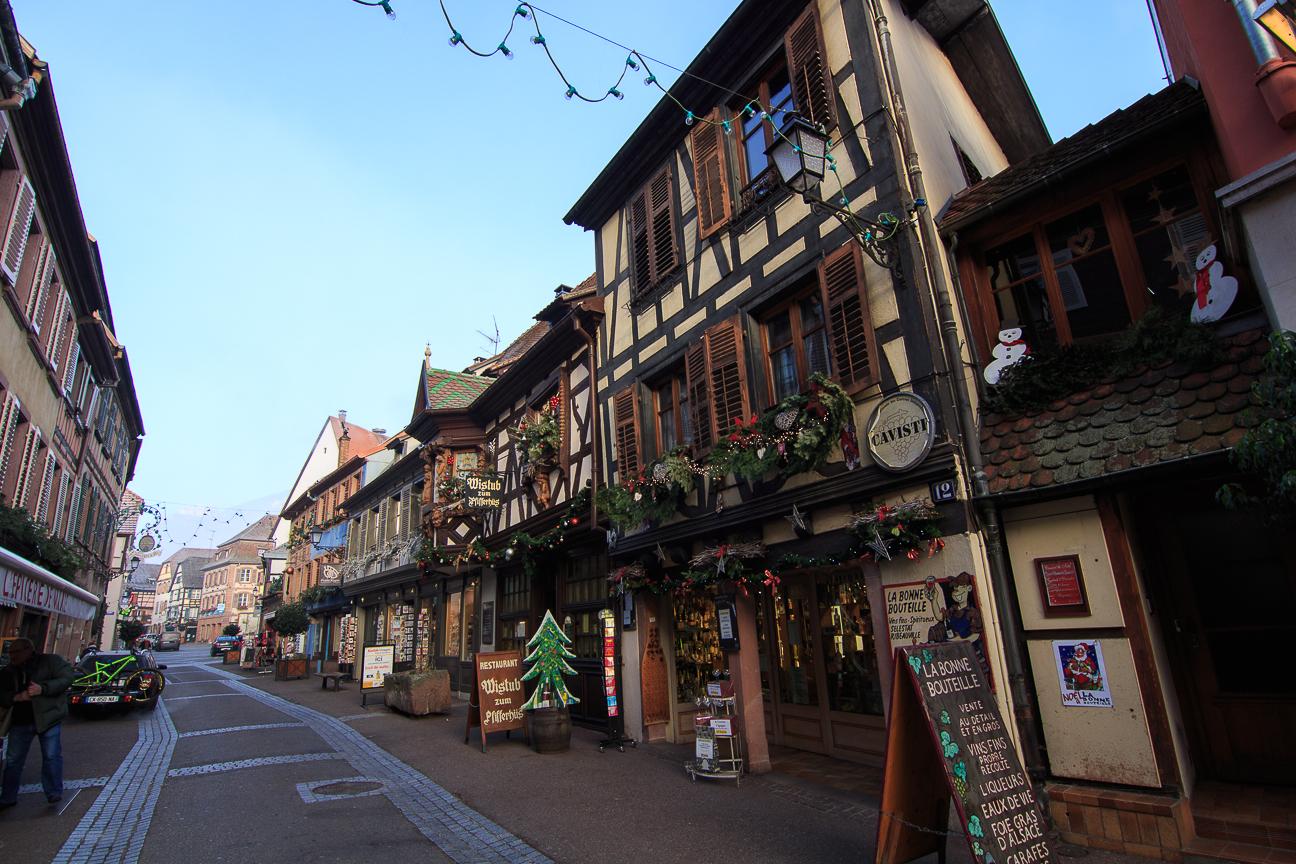 Calles del pueblo frances Ribeauville