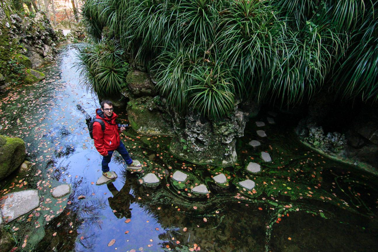 Caminitos secretos en la Quinta da Regaleira