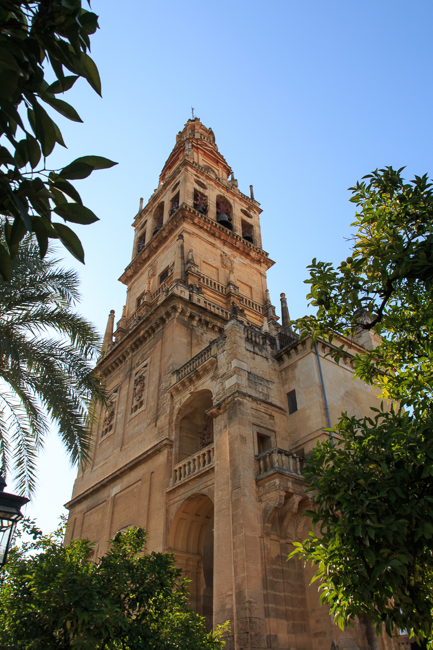 Campanario de la mezquita-catedral de Cordoba