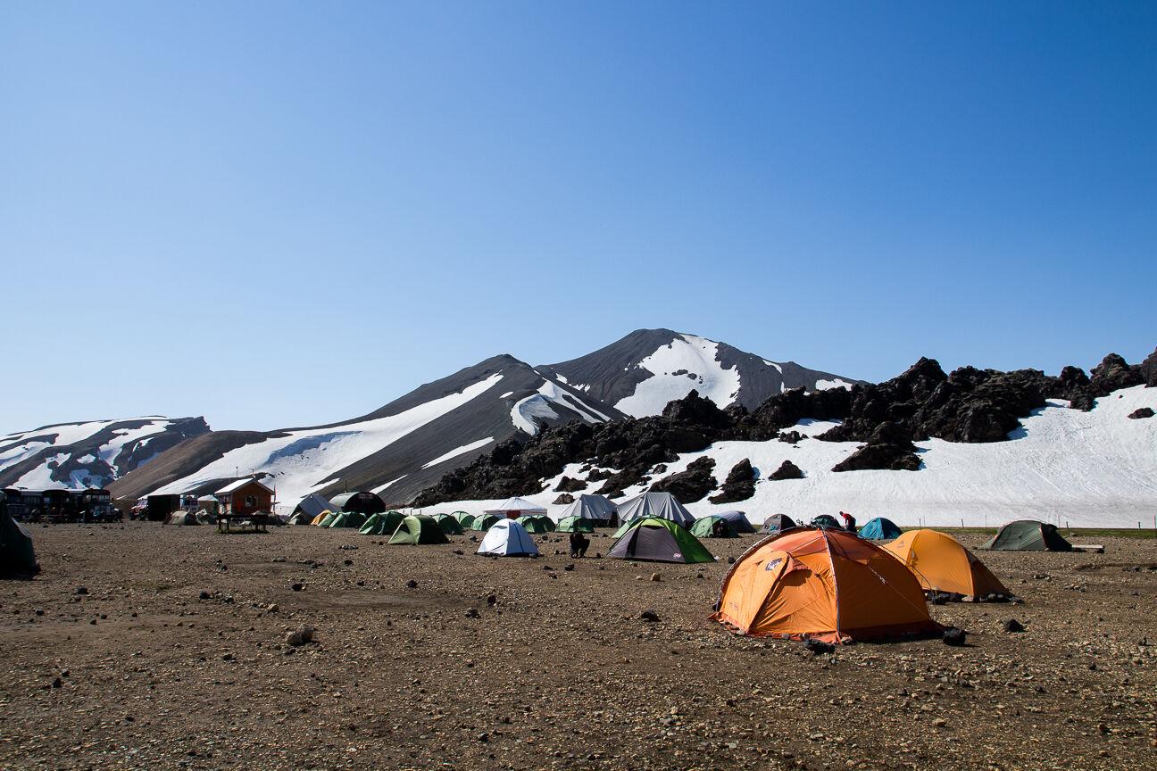 camping Landmannalaugar