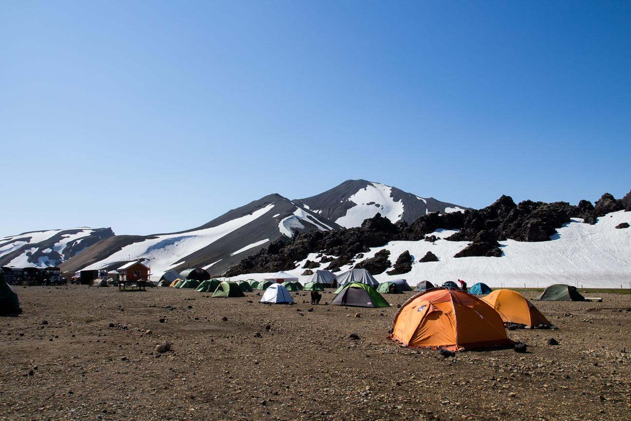 Camping de Landmannalaugar