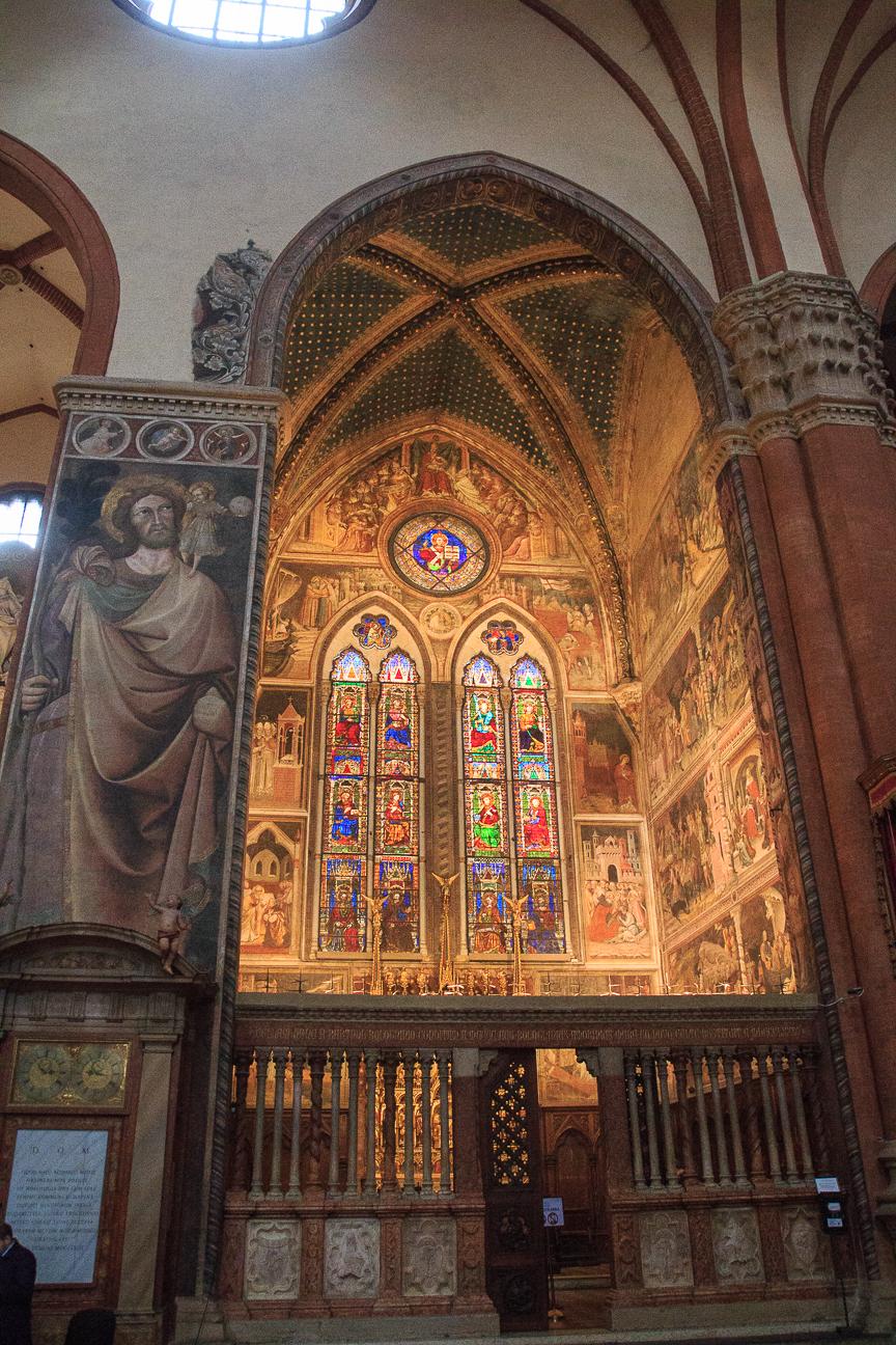Capilla basilica San Petronio Bolonia
