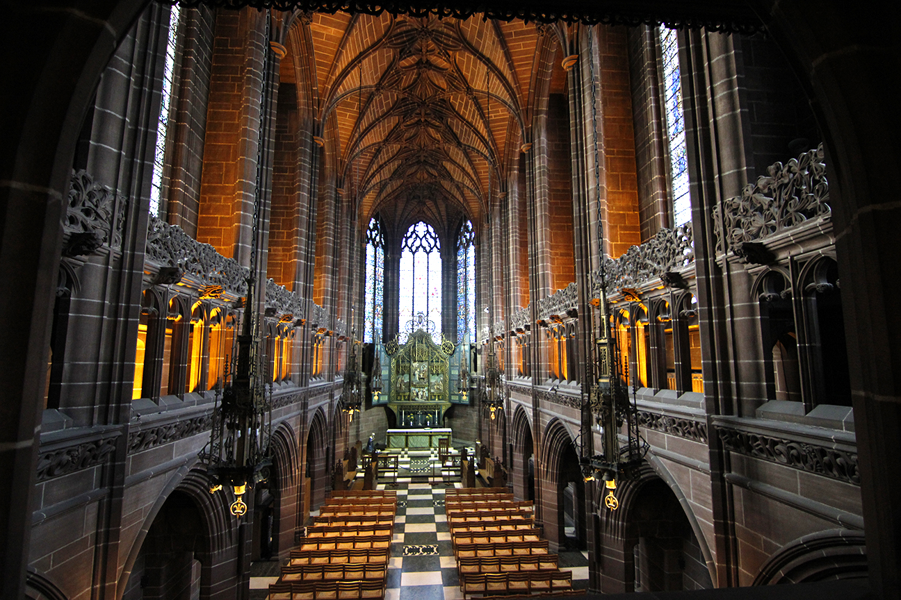 Capilla de mujeres en la Catedral de Liverpool