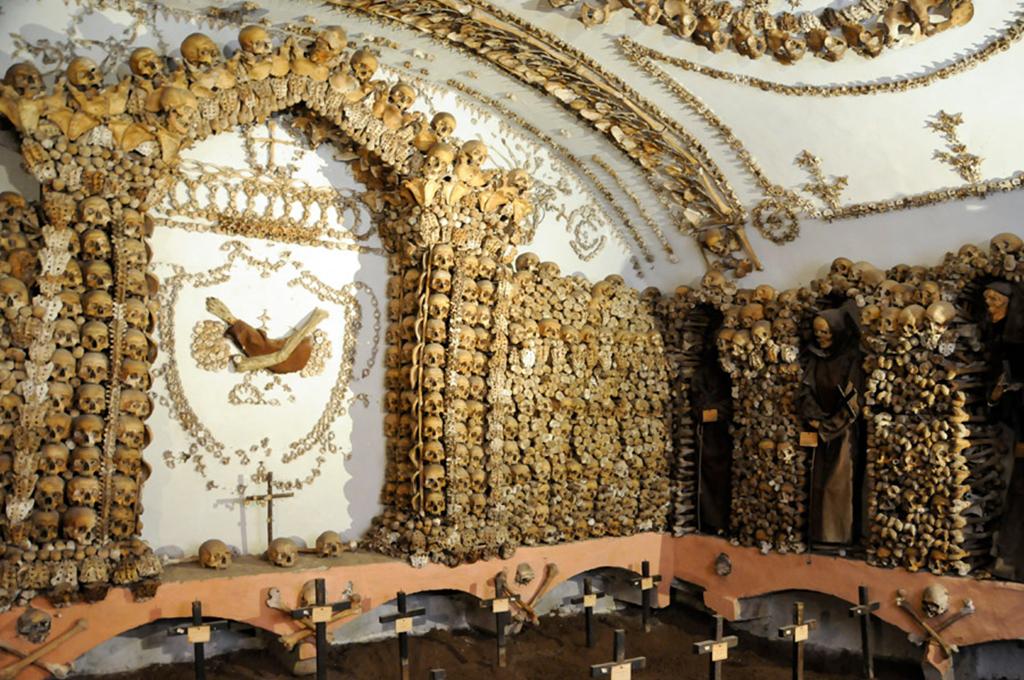 Cripta de los Capuchinos en Roma