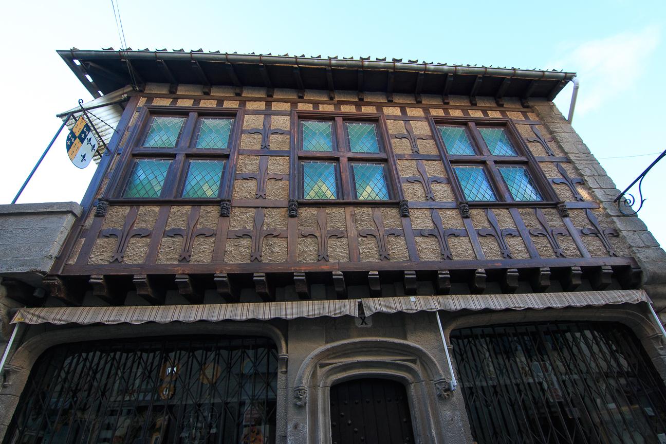 Casa tipica en Carcassonne