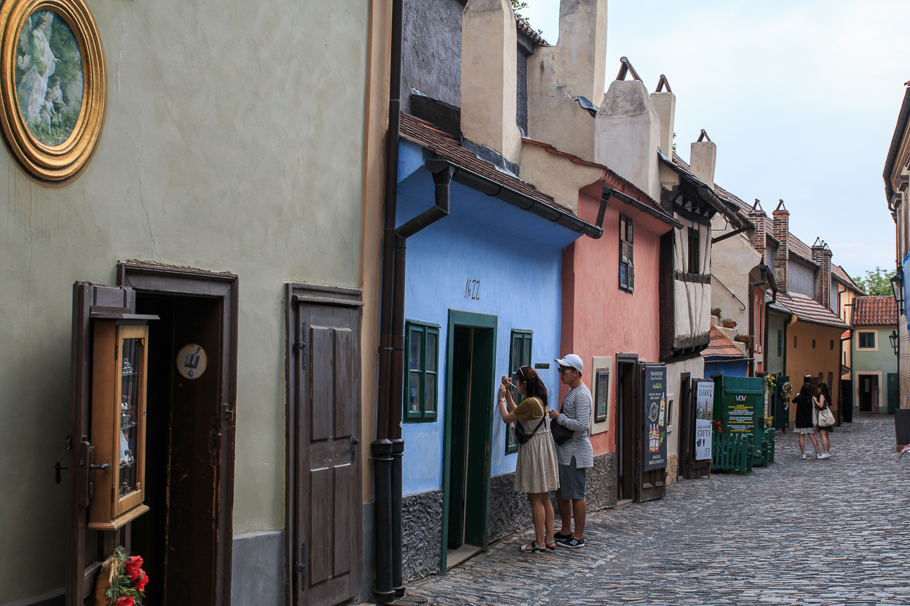 Casas del Callejon de Oro en Praga