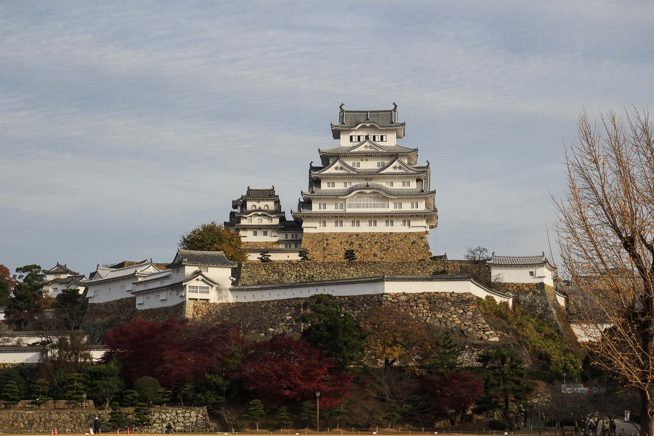 Castillo de Himeji viajar a japon