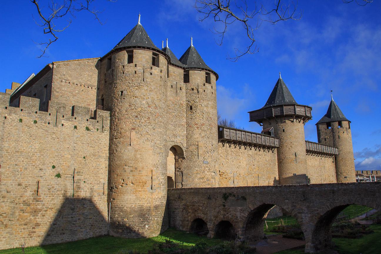 Castillo de la cite de Carcassonne