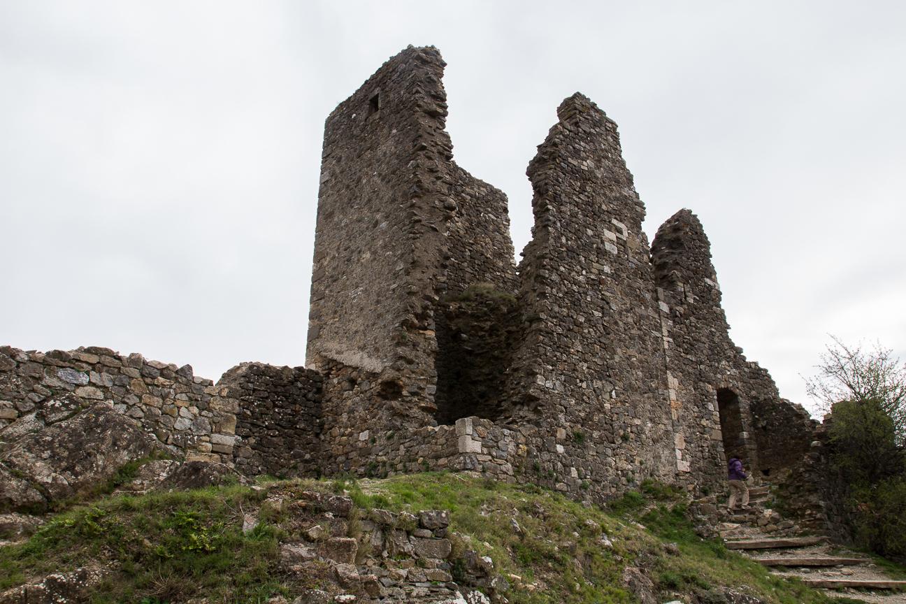 Castillo de Surdespine en el Sur de Francia
