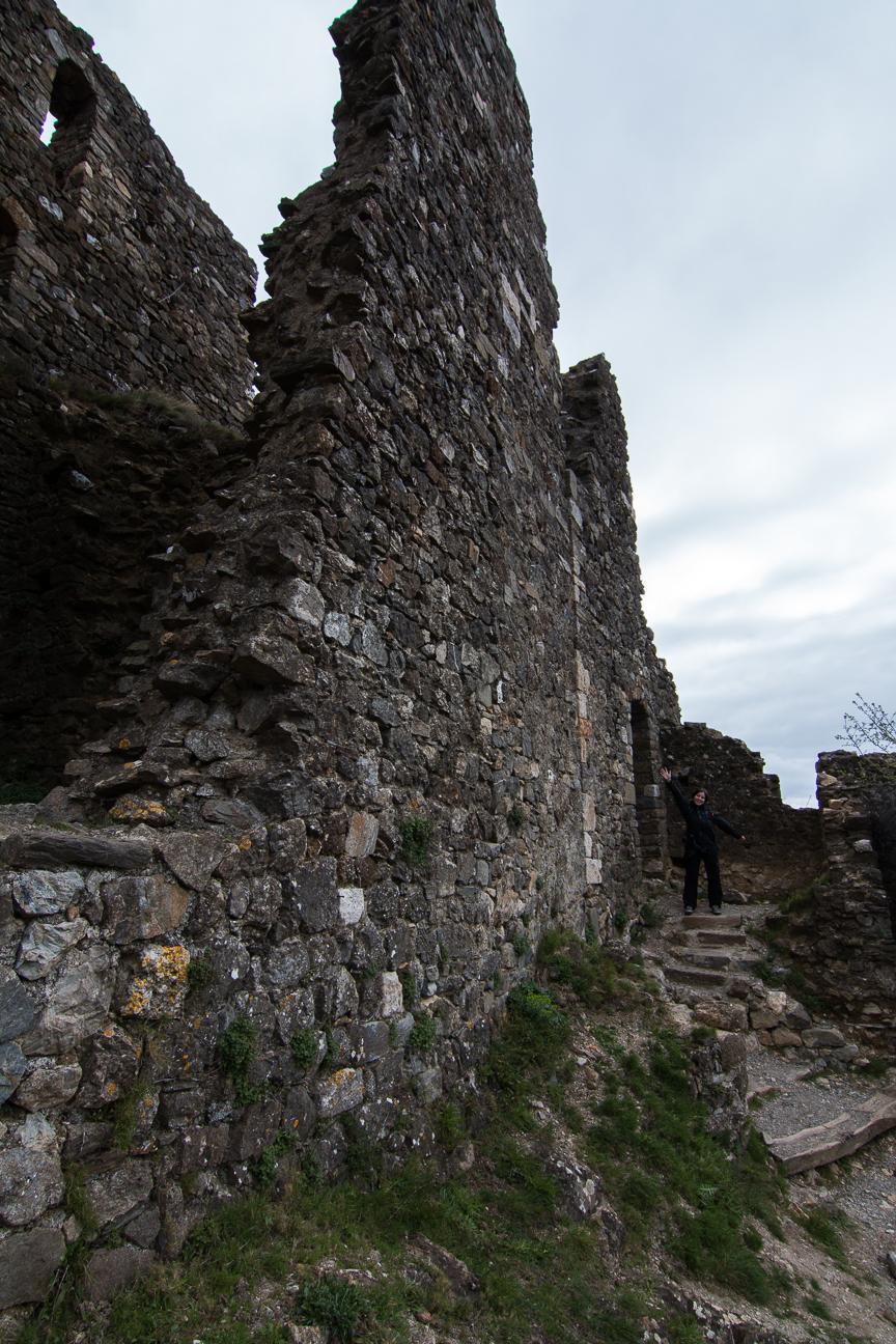 Castillo de Surdespine en Lastours